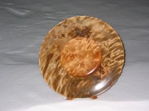 Fat i flammebjørk, 46 cm i diameter